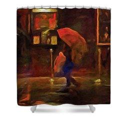 Nightlife Shower Curtain by Michael Pickett