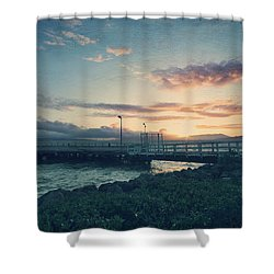 Nights Like These Shower Curtain by Laurie Search