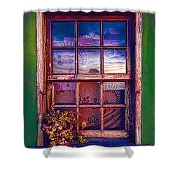 Nightscape La Palma-1 Shower Curtain