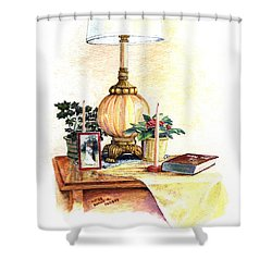 Nightstand Shower Curtain