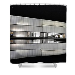 Nighttime Reflections Shower Curtain