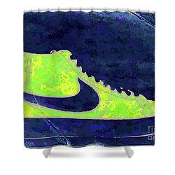 Nike Blazer 3 Shower Curtain by Alfie Borg