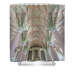Nikolaikirche Leipzig Shower Curtain