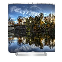 Niles Reflections Shower Curtain