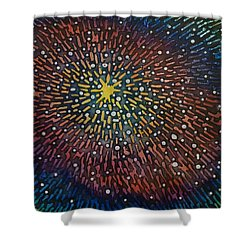 Nimoy Nebula Shower Curtain