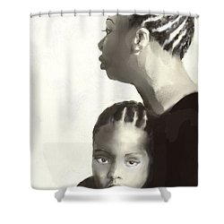 Nina And Lisa Simone Shower Curtain