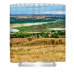 Niobara Shower Curtain