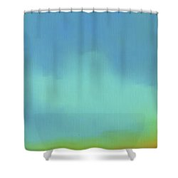 Nirvana Shower Curtain by First Star Art