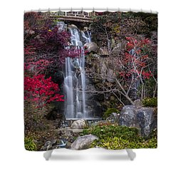 Shower Curtain featuring the photograph Nishi No Taki by Sebastian Musial