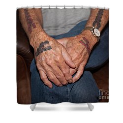 Shower Curtain featuring the photograph No Age Limit by Roselynne Broussard