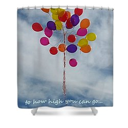 No Boundaries Shower Curtain by Emmy Marie Vickers