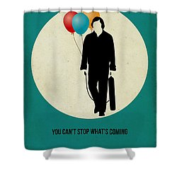 No Country For Old Man Poster 2 Shower Curtain by Naxart Studio