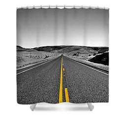 No Country For Old Men II Shower Curtain