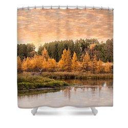 Tamarack Buck Shower Curtain