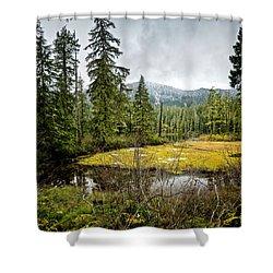No Man's Land Shower Curtain
