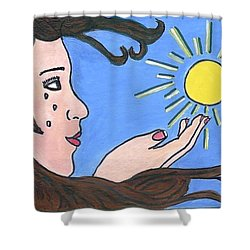 No More Alone  Shower Curtain