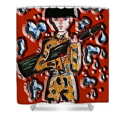No More War Shower Curtain by Patrick J Murphy