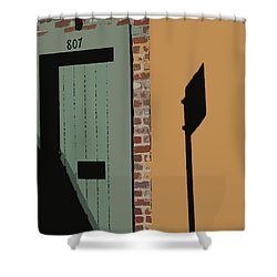 No Park Nola  Shower Curtain
