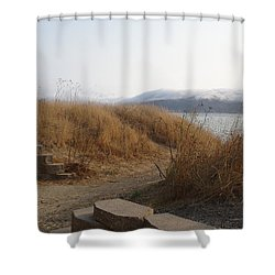 No Separation Shower Curtain