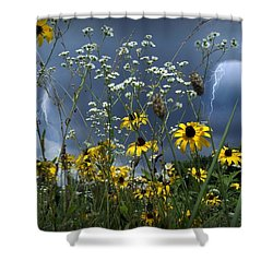 No Vase Needed Shower Curtain