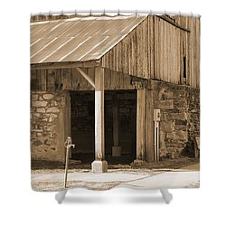 Shower Curtain featuring the photograph No Water by Kirt Tisdale