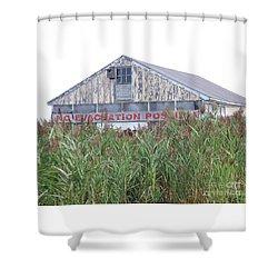 Newburyport Shower Curtain by Eunice Miller