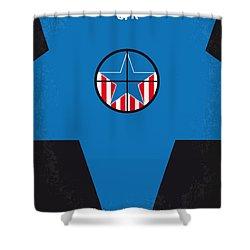 No111 My Jfk Movie Poster Shower Curtain