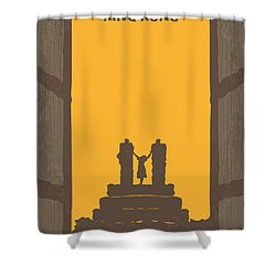 No133 My King Kong Minimal Movie Poster Shower Curtain