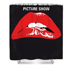 No153 My The Rocky Horror Picture Show Minimal Movie Poster Shower Curtain