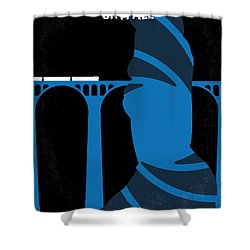 No277-007-2 My Skyfall Minimal Movie Poster Shower Curtain by Chungkong Art