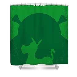 No280 My Shrek Minimal Movie Poster Shower Curtain