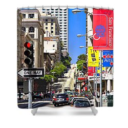 Nob Hill - San Francisco Shower Curtain