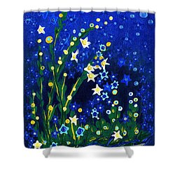 Nocturne Shower Curtain by Holly Carmichael