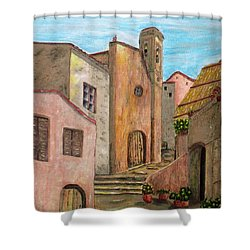 Nola Shower Curtain by Pamela Allegretto