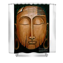 Non- Equivalence Revelation Shower Curtain