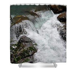 Nooksack Falls Shower Curtain