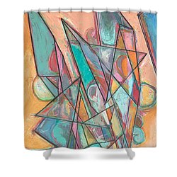 Noontime Shower Curtain by Allan P Friedlander