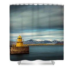 Nordurgardi Shower Curtain