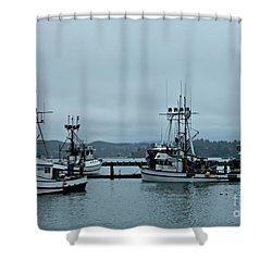 Norma M And Friends Shower Curtain