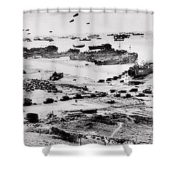 Normandy Shower Curtain by Benjamin Yeager
