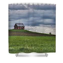 North 40 Shower Curtain by Jeff Folger