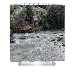 North And Middle Fork Of Smith River 2 Shower Curtain by Betty Depee