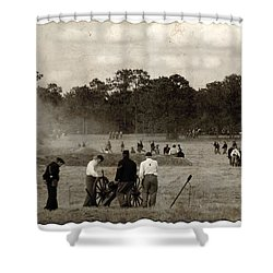 North And South Shower Curtain by Beverly Stapleton