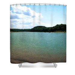 North Bar Lake - Sleeping Bear Dunes Shower Curtain