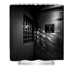 North Floor 1 Shower Curtain by Bob Orsillo