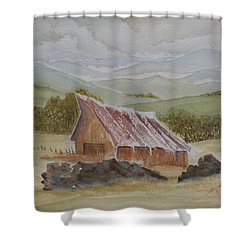 North Of Winnemucca Shower Curtain by Joel Deutsch