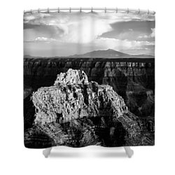North Rim Shower Curtain by Dave Bowman
