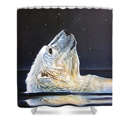 North Star Shower Curtain