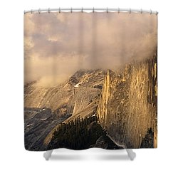 North Valley Panoramic Shower Curtain by Bill Gallagher