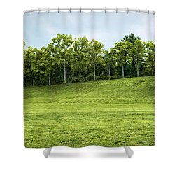 Northampton Green Pasture Shower Curtain